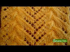 Silvana Tim - Tejido con dos Agujas, Crochet, Recetas de Cocina: Trenzas Fantasía. Tejido con dos agujas # 92