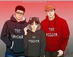 The saviour stalker and killer-killing stalking