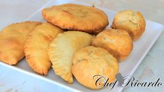 How To Make Jamaica Stuffed Fry Dumpling From Chef Ricardo Cooking