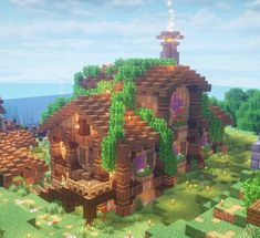 Art Minecraft, Minecraft Building Guide, Cute Minecraft Houses, Minecraft Structures, Minecraft Medieval, Minecraft Plans, Amazing Minecraft, Minecraft Decorations, Minecraft House Designs