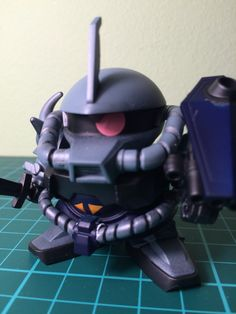 Bandai SD MS-07B3 Gouf Custom - airbrushed