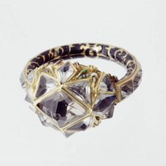 16th century diamond and enamel ring, now at Ranger's House, London (© with kind permission of The Wernher Foundation)