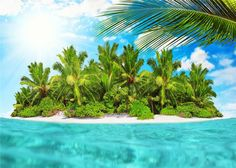 Something went wrong! Summer Beach, Summer Vibes, Beach Backdrop, Natural Scenery, Beach Photos, Photo Studio, Backdrops, Island Blue, Waves