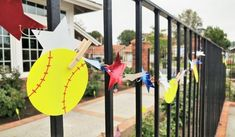 Cheap and Easy DIY Softball Party Decorations for an end of the year pool party along with other budget friendly party ideas. Softball Party Decorations, Party Table Decorations, Kids Party Snacks, Kids Party Games, Softball Birthday Parties, Adult Party Themes, My Little Pony Party, Outdoor Parties, Easy Diy