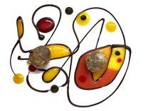 Chocolate fritters ::: MIRO L'art de dresser et présenter une assiette comme un chef de la gastronomie...