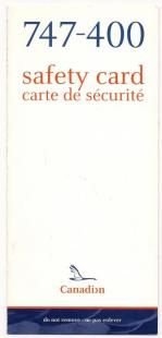 Canada Safety Cards - Canada Safety Card - Canada Safetycards - Canada Safetycard - my-safetycard. Pacific Airlines, Air Lines, Safety, Archive, Canada, Lettering, Pictures, Security Guard, Photos