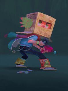 Dani Diez on Behance Kid Character, Character Creation, Character Concept, Concept Art, Cartoon Drawings, Cartoon Art, Character Illustration, Illustration Art, Character Design Animation