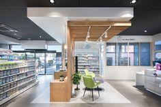 Pharmacy Images, Retail Shelving, Pharmacy Humor, Happy Nurses Week, Clinic Design, Retail Design, Architecture, Interior Design, Cool Stuff