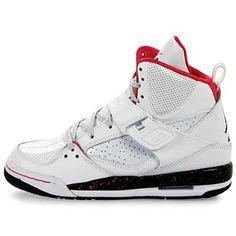 NIKE JORDAN GIRLS FLIGHT 45 HIGH (GS) BIG KIDS 524864-128 Nike. $84.43 Air Max Sneakers, High Top Sneakers, Sneakers Nike, Jordans Girls, Air Jordans, Crazy Shoes, Me Too Shoes, Shiny Shoes, Shoes World
