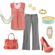 """""""Office - work outfit"""" by luvpugs on Polyvore"""