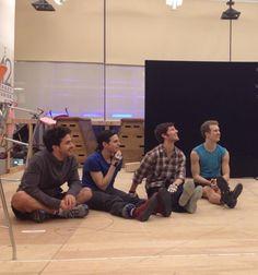 I see Ryan Steele! Ryan Steele, Theatre Geek, Overture, Curtain Call, Monologues, Matilda, Backstage