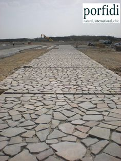 Jeddah - Kaust,Saudi Arabia. 90.000 m2 of porphyry natural stone. www.porfidi-online.com