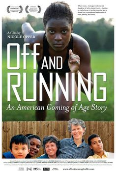 """Off and Running tells the story of Avery, a track star with a bright future. Though it may not look typical, Avery's household is like most American homes — until Avery writes to her birth mother and the response throws her into crisis. She struggles over her """"true"""" identity, the circumstances of her adoption and her estrangement from black culture. Just when it seems as if her life is unraveling, Avery decides to pick up the pieces and make sense of her identity, with inspiring results."""