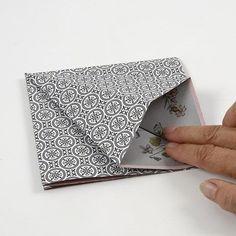 A rectangular Paper Diamond made from Vivi Gade Vellum Paper - Creative ideas Vellum Paper, Diy Paper, Paper Art, Paper Crafts, Paper Diamond, Origami Design, Design Seeds, Paper Folding, One Design
