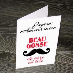Carte double de 14,85 x 10,5 cm (fermée) imprimée sur papier blanc 160 gr. Livrée avec une enveloppe blanche. Chaque exemplaire est unique : fait main en France.