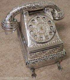 Fred Zimbalist Telephone Music Box Thorens 28 Note Musical from Romeo Juliet | eBay
