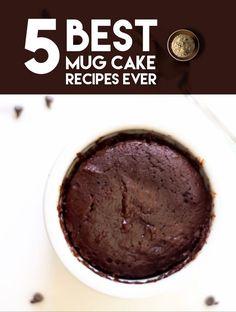 5 Best Mug Cake Recipes Ever