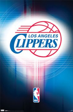 Los Angeles Clippers NBA Team Logo Poster - Costacos Sports