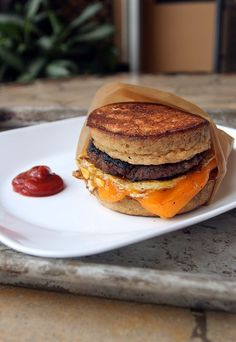 An awesome #keto replacement for a favorite fast-food breakfast: The McGriddle. Shared via http://www.ruled.me/