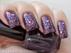 Love. Varnish, chocolate and more...: Swatches & Review & Nail Art - Glitter Gall She'll be right