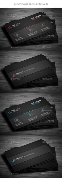 Corporate Business Card - Corporate Business Cards Download here : https://graphicriver.net/item/corporate-business-card/19338254?s_rank=91&ref=Al-fatih
