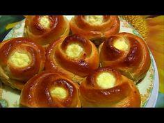 БУЛОЧКИ с ТВОРОГОМ Вкусные и Нежные - Cottage Cheese Buns recipe  - Bánh Phô mai Tươi LudaEasyCook - YouTube