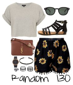 """Random 130"" by megan-walz21 ❤ liked on Polyvore featuring Topshop, Moscot, Yves Saint Laurent, Lulu*s and Marc Jacobs"