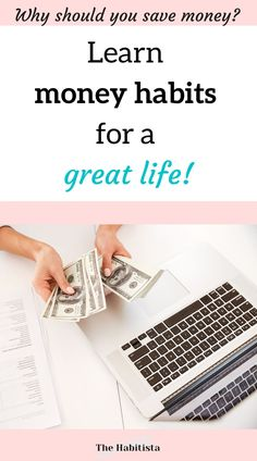 Set yourself up for financial success with great money habits! Learn to easily manage your money without feeling deprived!! why should I save money | money saving ideas | organize finances | personal finance blog | smart money How To Become Smarter, Life Values, Finance Organization, Finance Blog, Great Life, Managing Your Money, Financial Success, Saving Ideas, How To Better Yourself