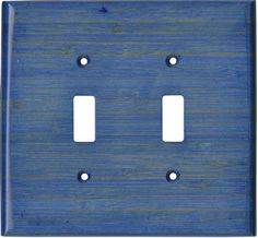 BAMBOO SMOKE BLUE Switch Plates, Outlet Covers & Rocker Switchplates