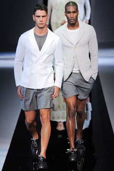 Emporio Armani Spring 2013 Menswear Collection Slideshow on Style.com