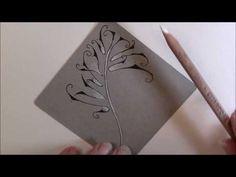 Barb U Tangle Pattern Lesson # 197 - YouTube