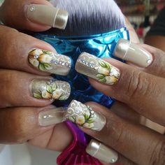 116 Me gusta, 0 comentarios - By Tancinha Castro (@tancinha_castro) en Instagram Long Nail Art, Long Nails, Colorful Nails, Nail Arts, Manicures, Maybelline, Nail Colors, Nail Designs, Make Up