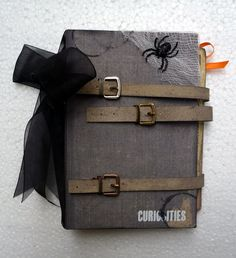 Halloween Mini Album - Paper Wings Productions - Scrapbook.com
