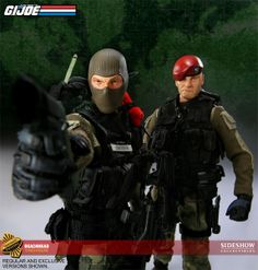 G.I. Joe - Sixth Scale Figure - Beachhead (Sideshow Exclusive - Switch-out portrait with removable beret) #26281
