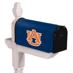 Magnetic Mailbox Cover #Auburn Clings securely to mailbox. Includes cutout for postal alert flag and tear-off edges for smaller mailboxes. #SaffordSportingGoods