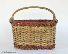 Recent Willow Baskets by Katherine Lewis - Dunbar Gardens Rattan, Anniversary Gifts, Weaving, Magazine, Fiber Art, Baskets, Pretty, Handmade, Design