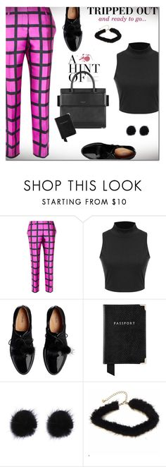 """T r i p p e d Out!"" by nonniekiss ❤ liked on Polyvore featuring J.Crew, Givenchy and Aspinal of London"