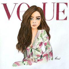 Pin for Later: Tous les Créateurs Sont Fans de Cet Artiste Sur Instagram Lorde sur la couverture de Vogue Australie