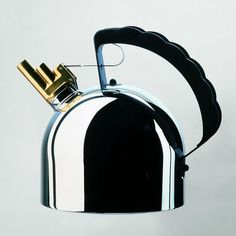 Alessi Tea Kettle With Whistle  PRICE: $325.00