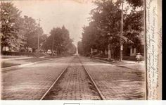 Street car line Fairmount Indiana Railroad Tracks, Fairmount Indiana, Pride, Community, History, Street, Car, Historia, Automobile
