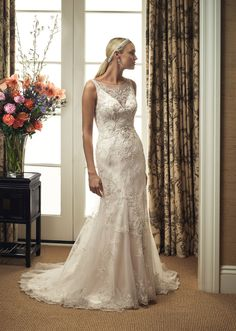 Casablanca Wedding Gowns at The Bridal Shoppe in Crystal City, MO 636 931 8464.