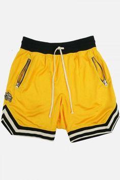 Hackett Mens Ultra Light Twill Chino Shorts Yellow