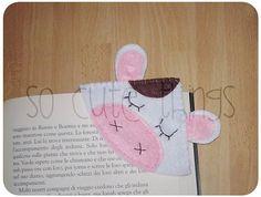Bookmark 'Cow' corner by SoCuteThings
