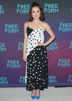 Lucy Hale at Disney/ABC Winter TCA Tour 2016 held at the Langham Huntington Hotel in Los Angeles on January 9, 2016