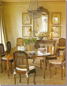 Things That Inspire: Dining Room Decor Part 3: Collections on the Wall