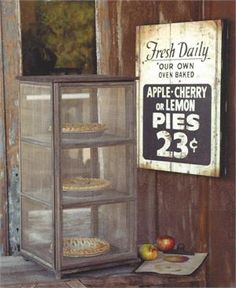 Our Vintage Style Pie Safe will bring that same utility and country charm to your home.