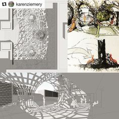 #Repost from Junior Architecture student  @karenziemery and the interdisciplinary team that he collaborated with.  And then Rhinoceros drops in But you know you have to keep the spirit of the space...how it feels ...keep it real to the point that even if it goes into a simple rendering.....you can still see the beauty through the black lines and white background ..... #A NEW PIECE FOR MEMORIAL UNION at ASU.. This is the project generated by five different disciplines at ASU (Architecture…