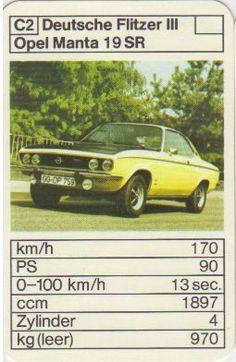 Opel Manta 1.9 SR