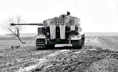 Tiger I in action on the Eastern front