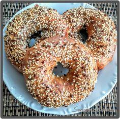Paleo bagel, gluténmentes, tejmentes